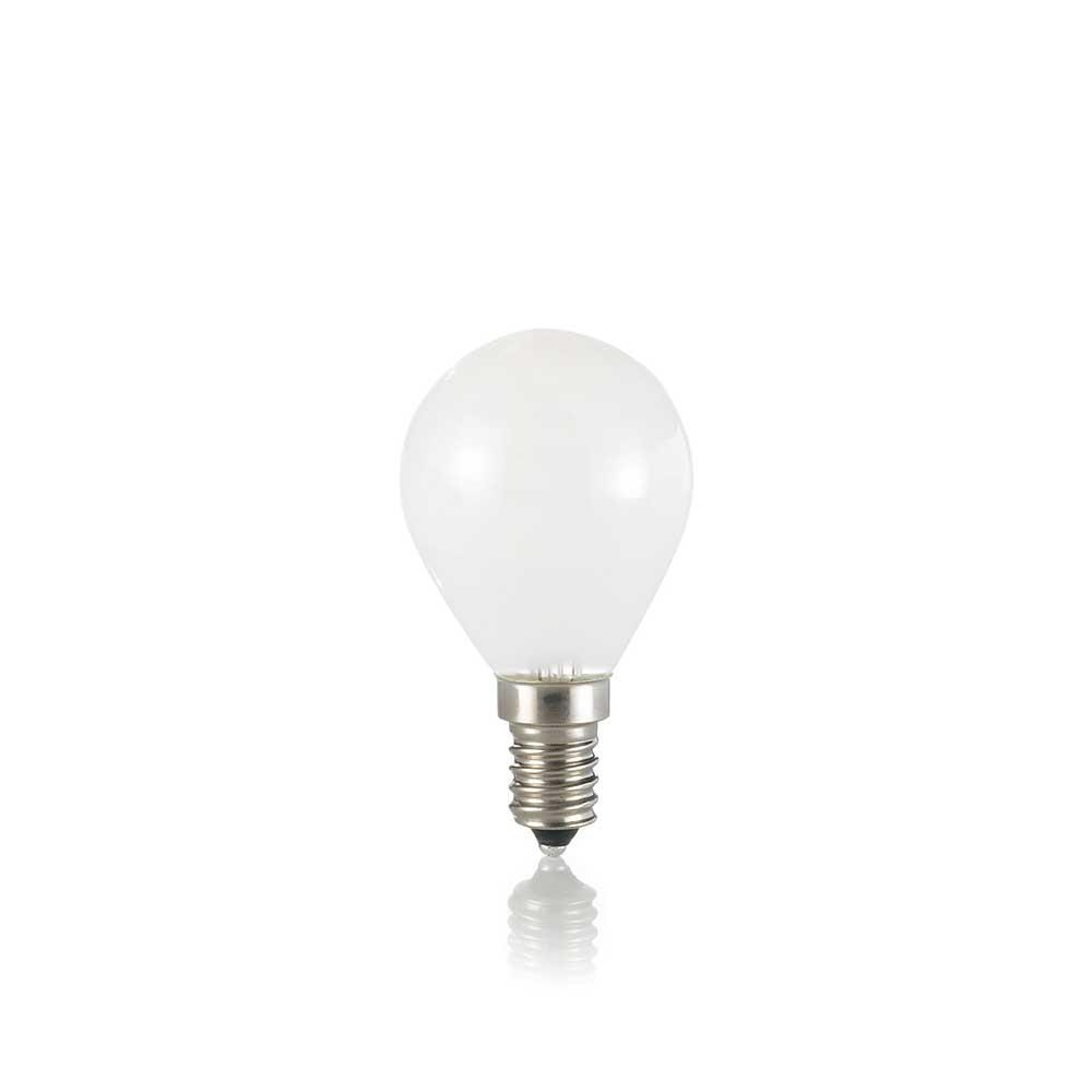 LAMPADINA CLASSIC E14 4W SFERA WHITE 3000K