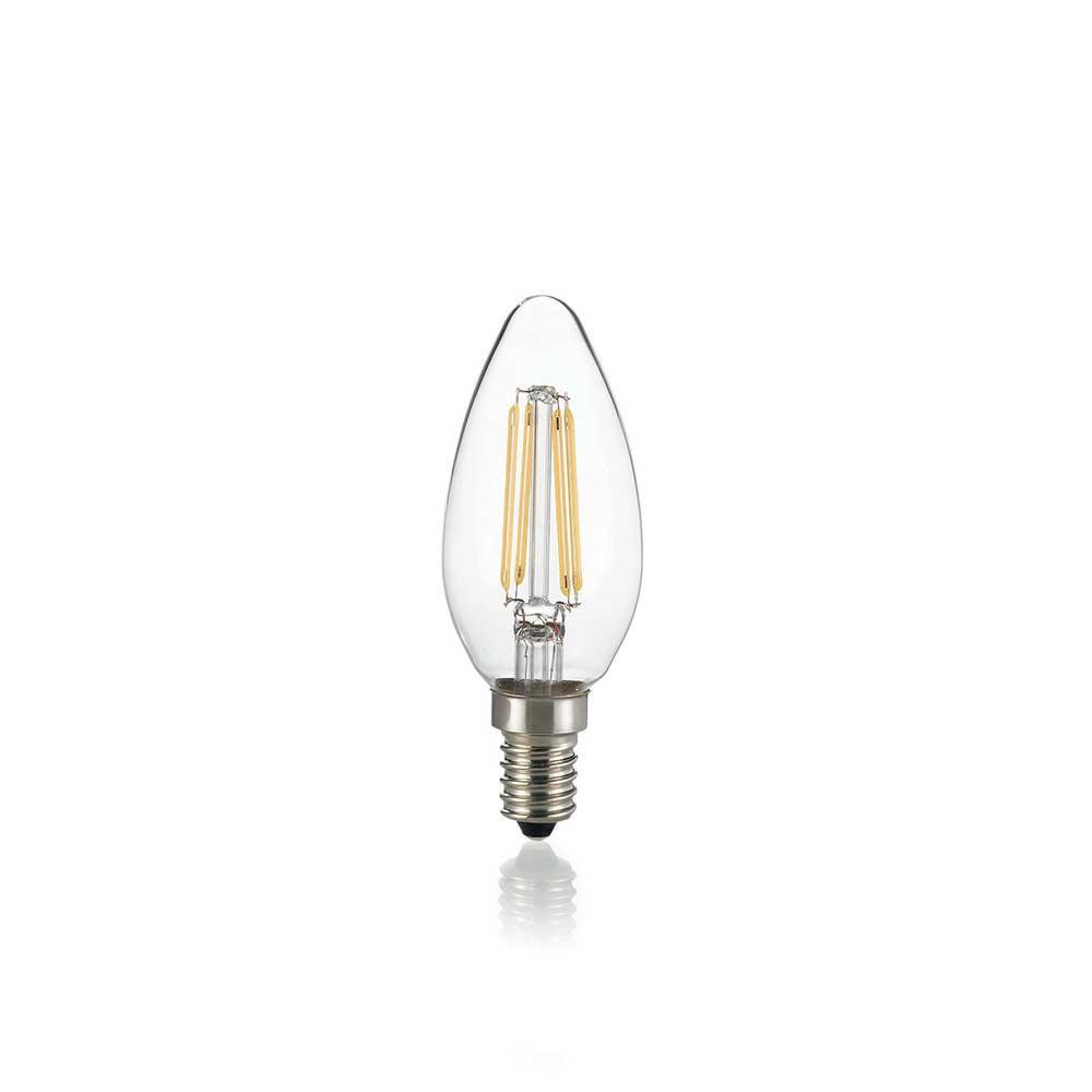 LAMPADINA CLASSIC E14 4W OLIVA TRANSPARENT 3000K
