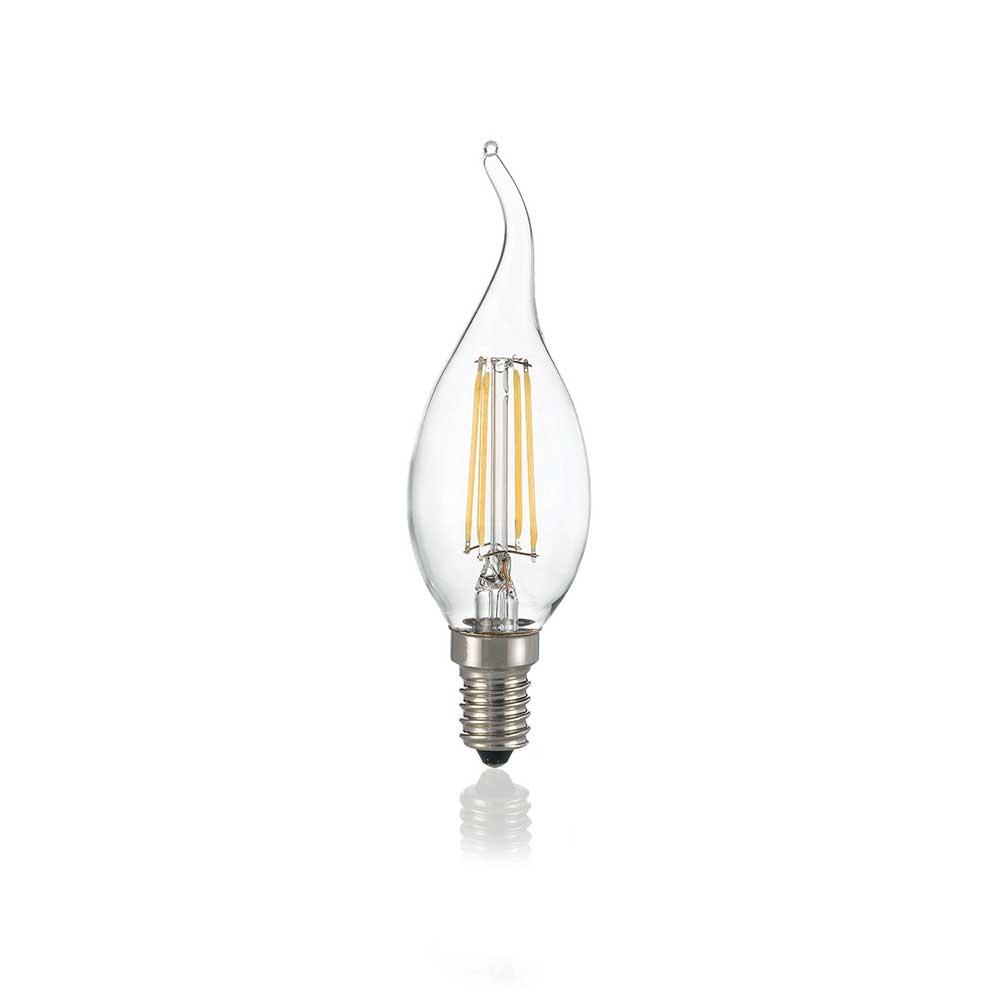 LAMPADINA CLASSIC E14 4W COLPO DI VENTO TRASP 3000K