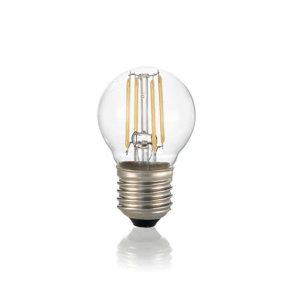 LAMPADINA CLASSIC E27 4W SFERA TRANSPARENT 3000K