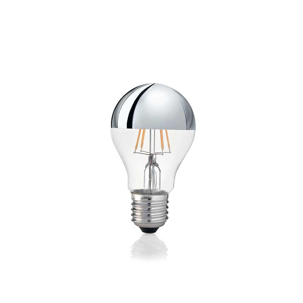 LAMPADINA CLASSIC E27 8W GOCCIA CHROME 3000K