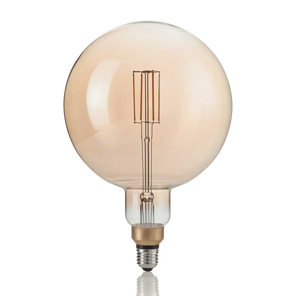 LAMPADINA VINTAGE XL E27 4W GLOBO BIG