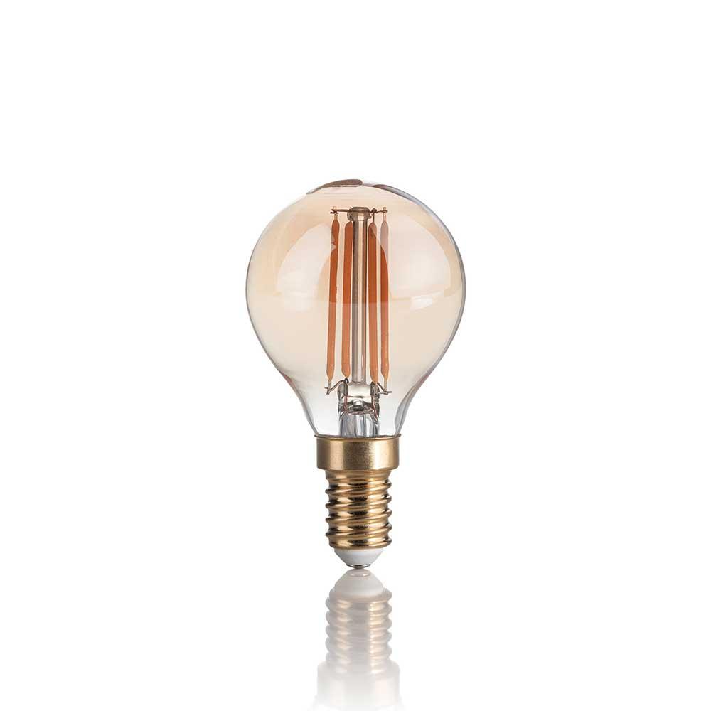 LAMPADINA VINTAGE E14 4W SFERA