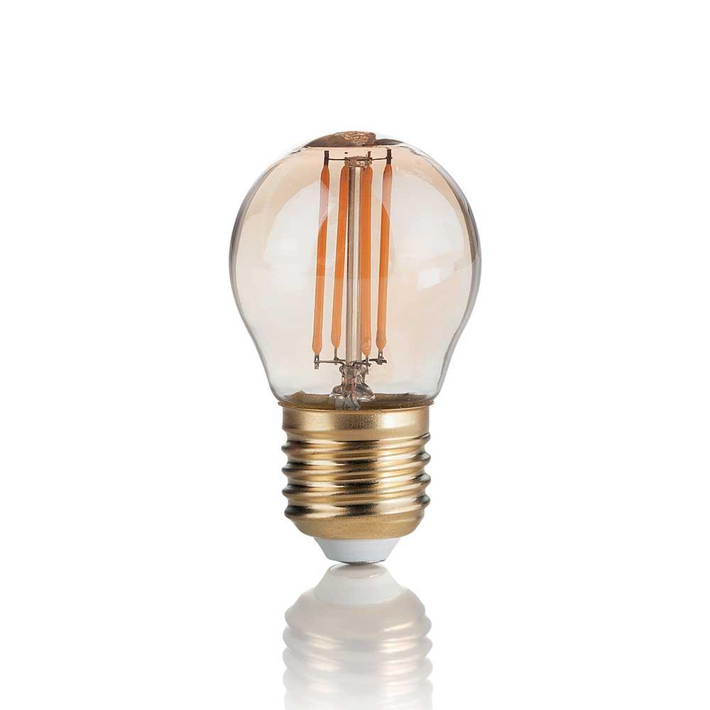 LAMPADINA VINTAGE E27 4W SFERA