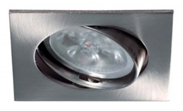 Recessed square nickel movable